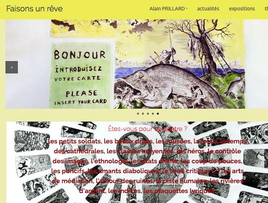 alainprillard.fr / artiste