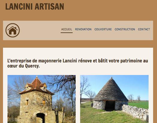 lancini-artisan.fr / rénovation